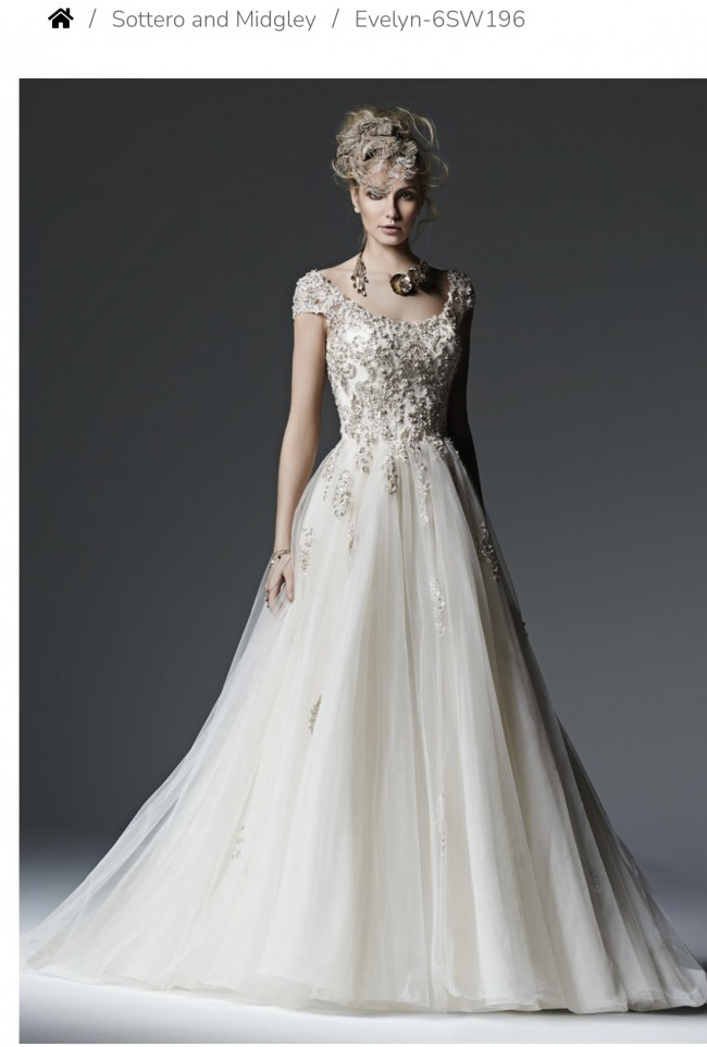 Sottero and Midgley Evelyn