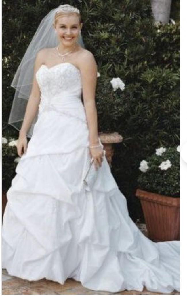 David's Bridal 9T9670