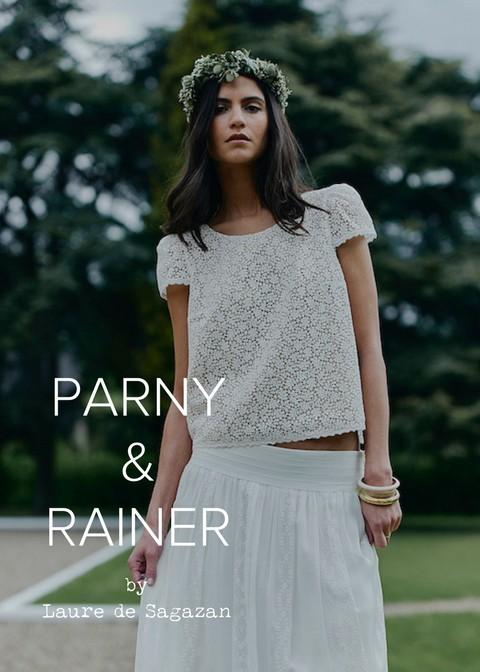 Laure de Sagazan Marot Skirt, Parny top