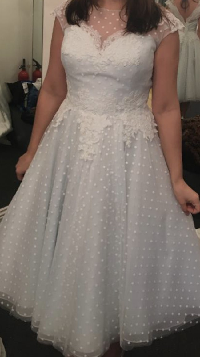 Loulou Bridal Betty (custom made in blue) LB220