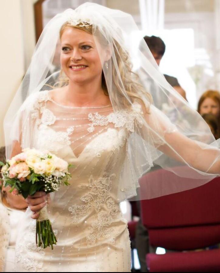 Maggie Sottero Savannah Used Wedding Dress On Sale 68% Off