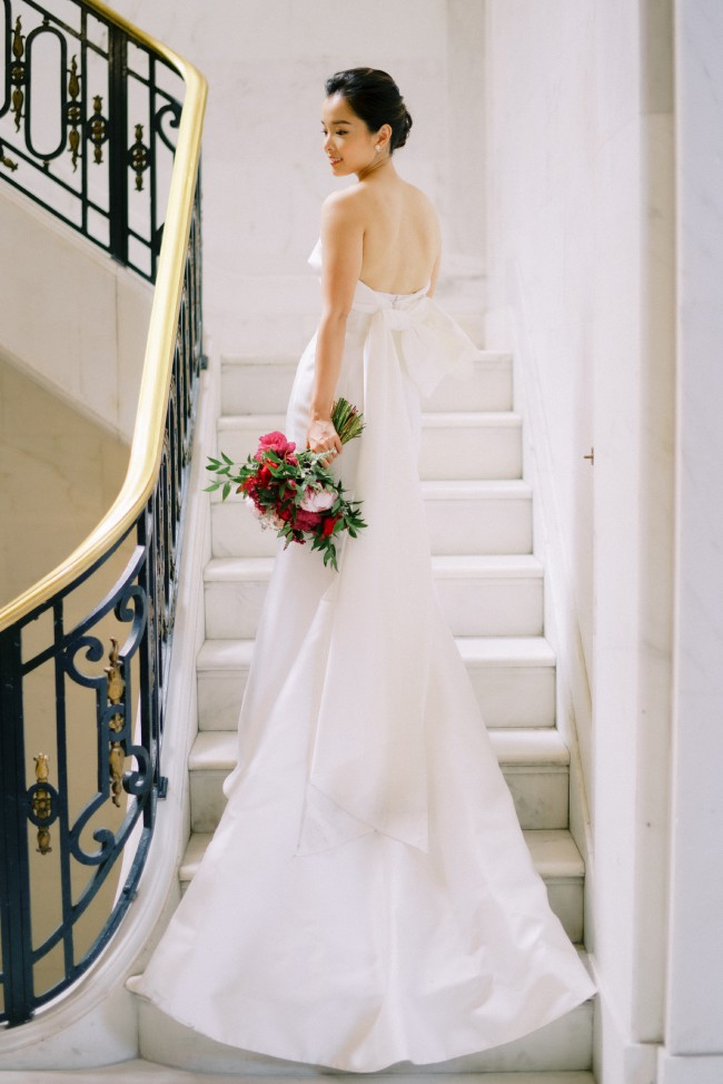 Carolina Herrera Hunter Gown