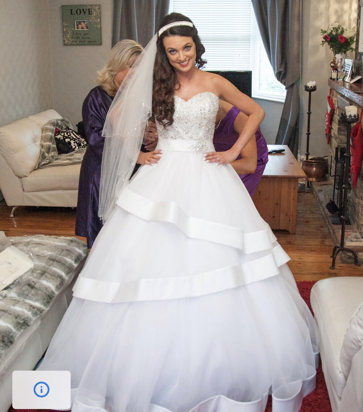 Cheap Wedding Dresses Hertfordshire: Ronald Joyce Ria Preloved Wedding Dress On Sale 45% Off