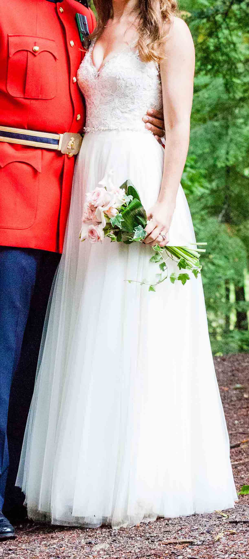Bhldn Cassia Used Wedding Dress On Sale 58 Off Stillwhite