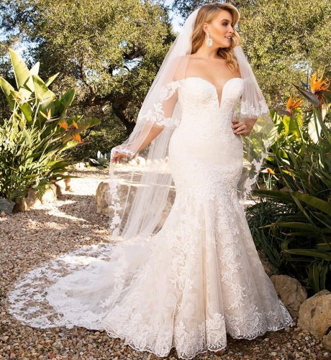 Casablanca Bridal 2376