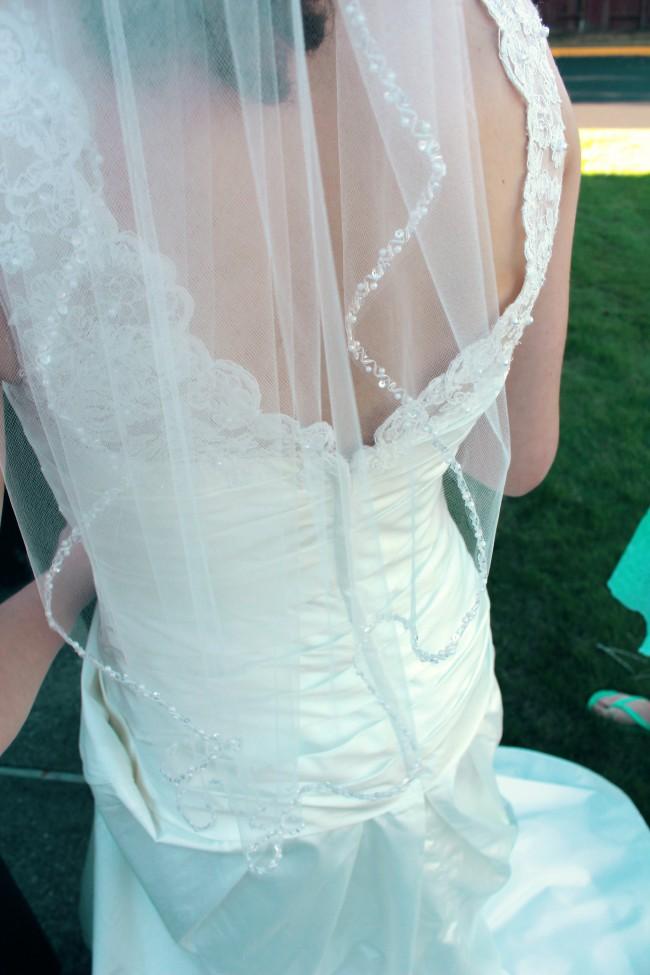 David's Bridal WG3529