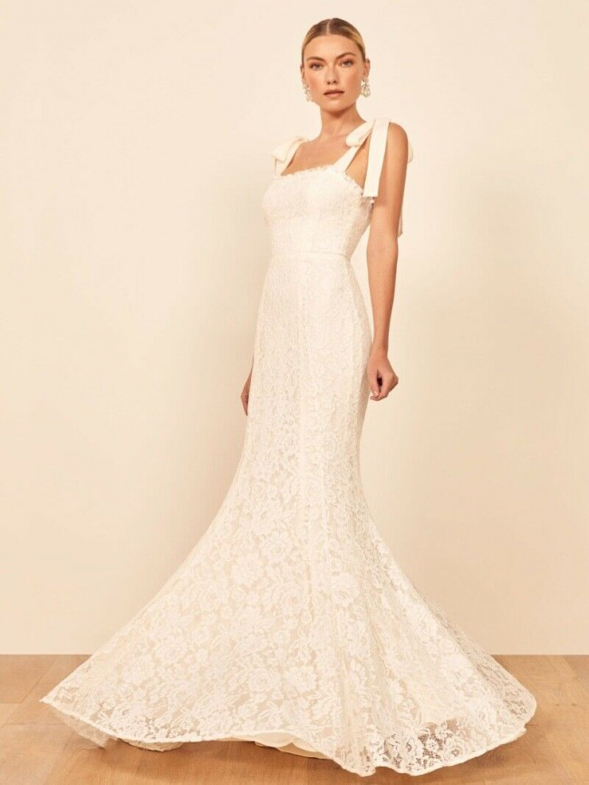Reformation Bastille Wedding Dress