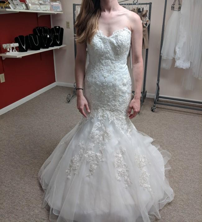 David's Bridal Custom Made