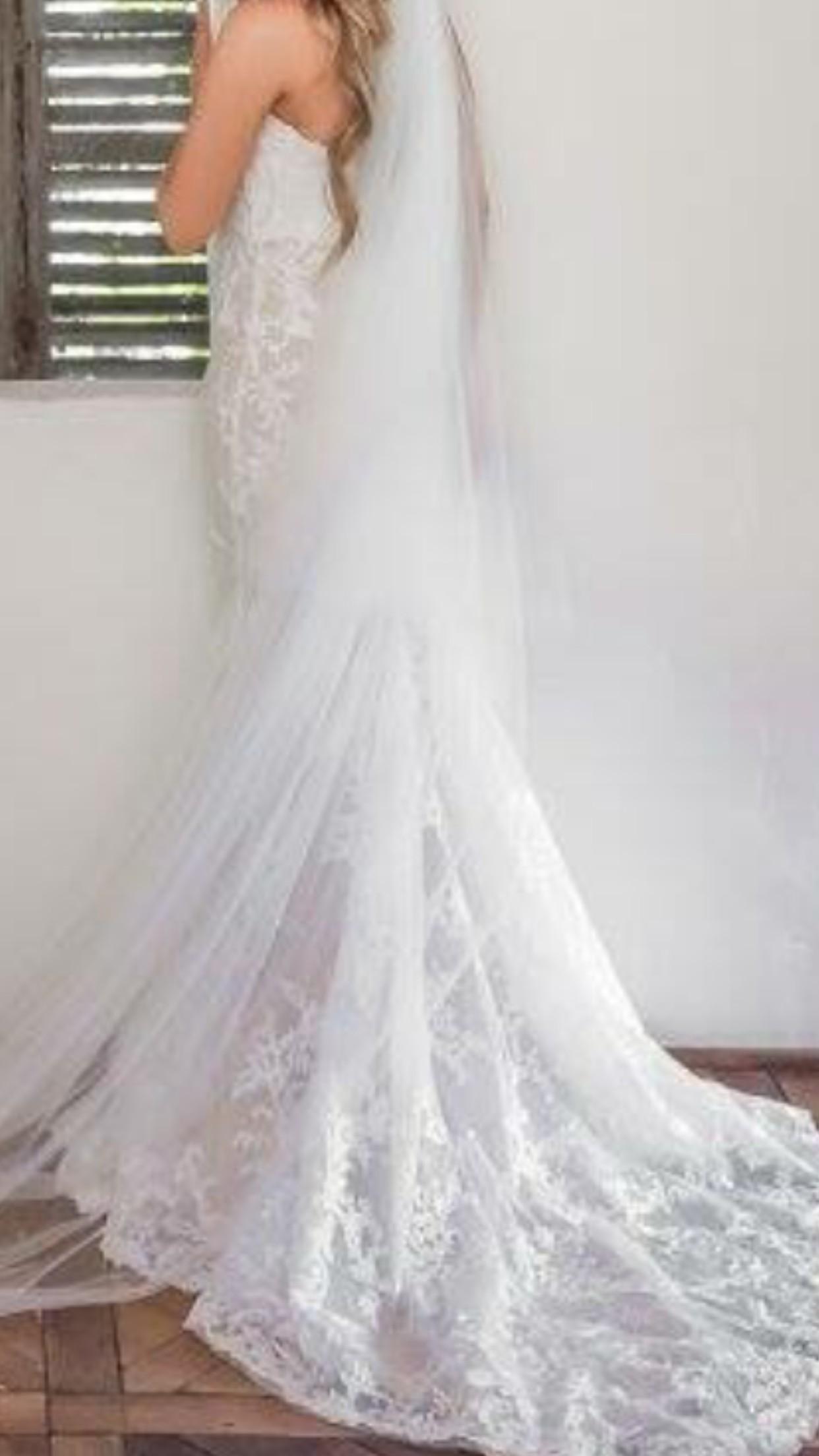b7d3ed52c89 Nektaria Giselle Gown Second Hand Wedding Dress on Sale 39% Off -  Stillwhite Australia