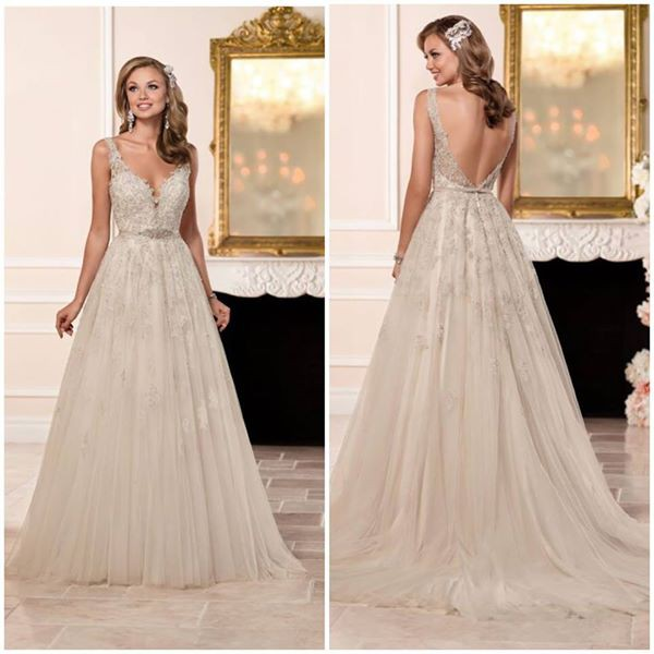 Preowned Wedding Gowns: Stella York 6291 Used Wedding Dress On Sale 48% Off