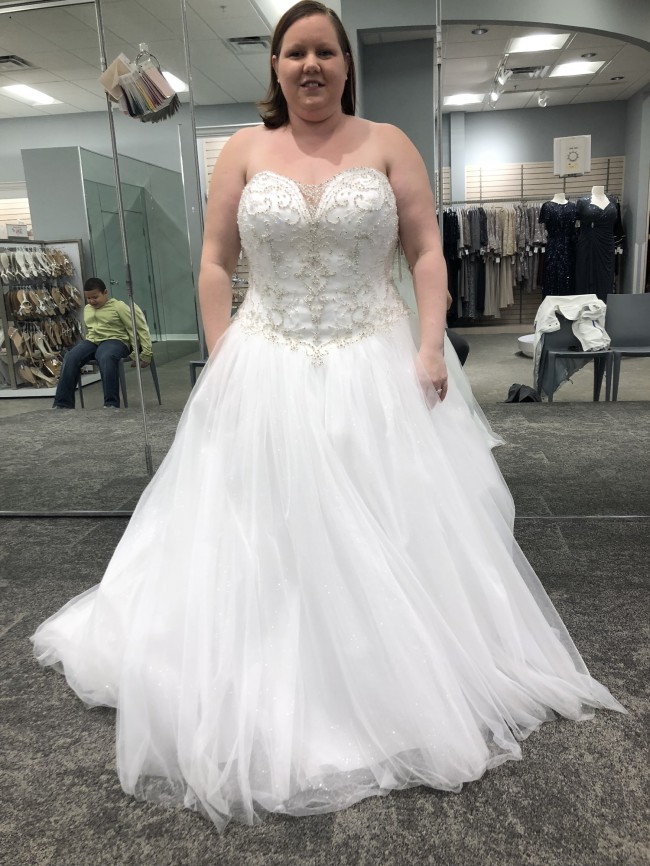 David's Bridal 9V3849