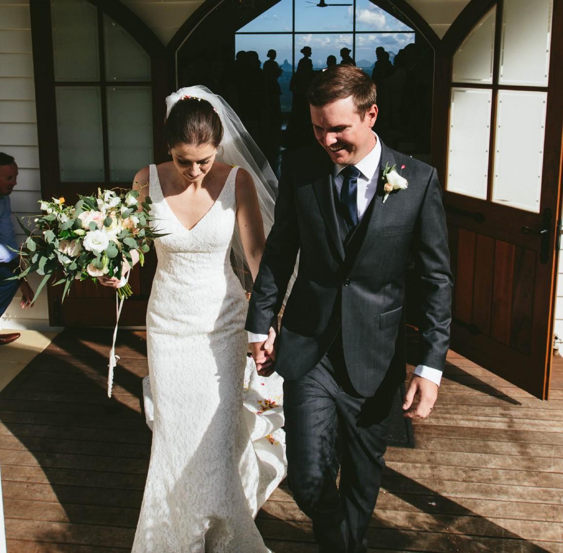 Pronovias Maricel Preowned Wedding Dress On Sale 50% Off