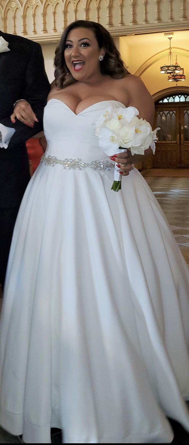 Justin Alexander Similar to Silk Dupion Sweetheart Bodice Ball Gown