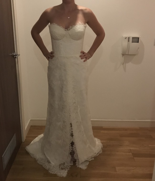 Karen Willis Holmes, Annika - Custom Made with front slit
