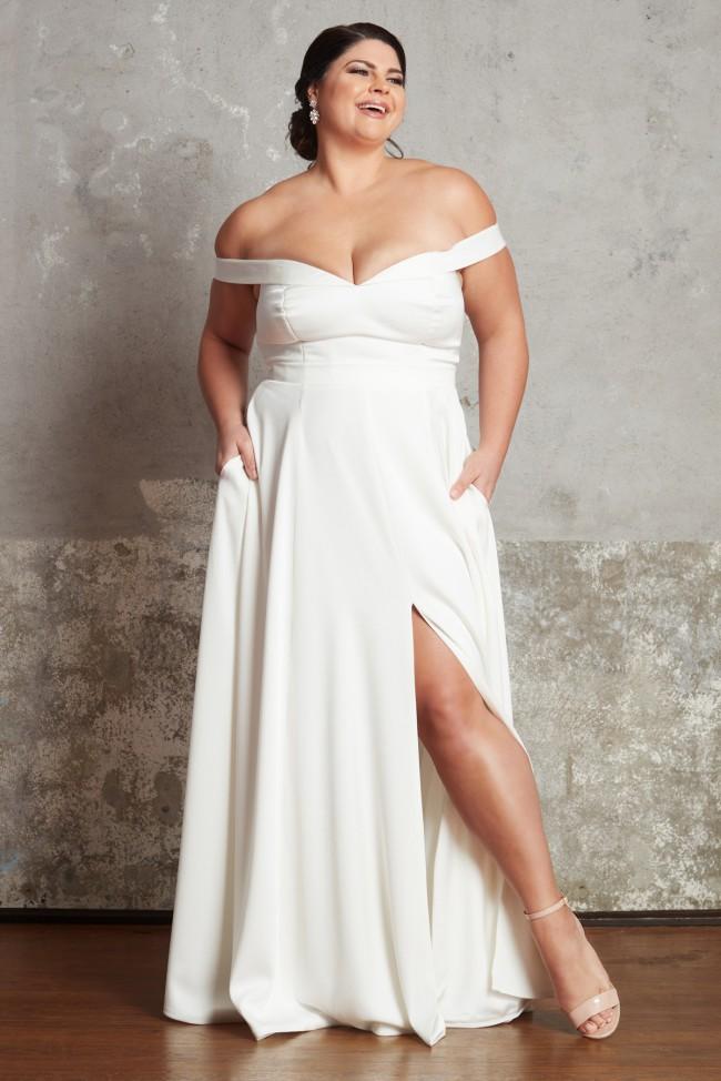 A-Line Lauren Gown