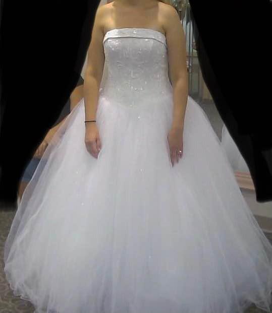 David's Bridal T8017