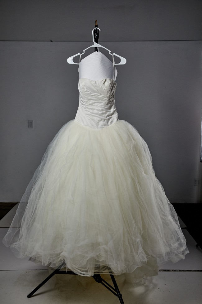 Vera Wang White, Ball Gown