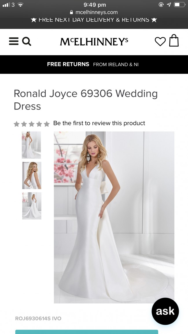 Ronald Joyce Nancy Gown