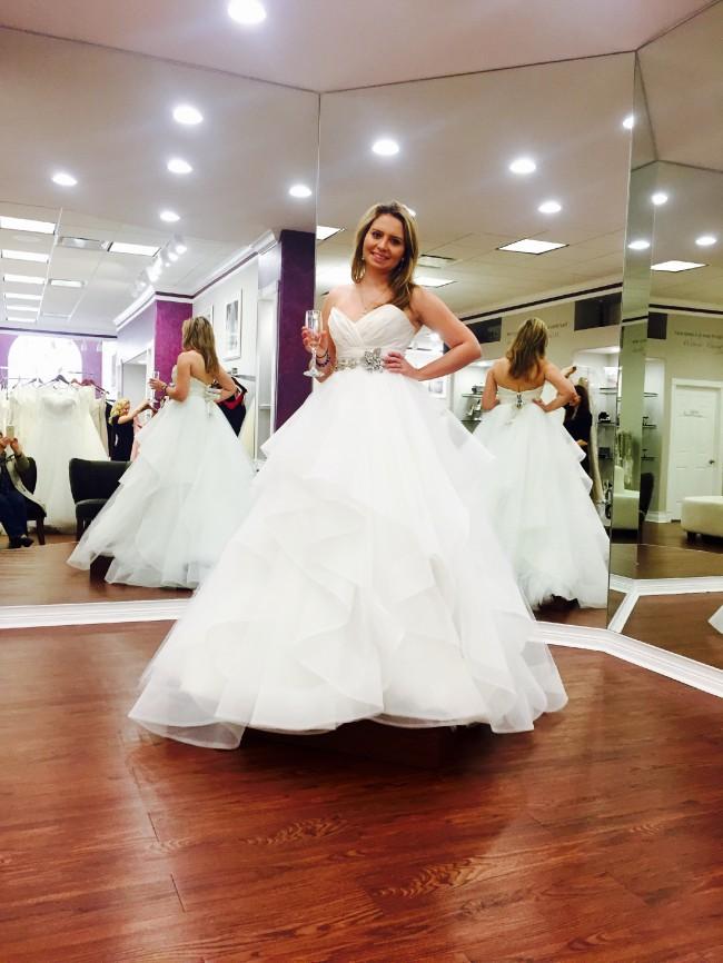 Hayley Paige, Londyn Gown