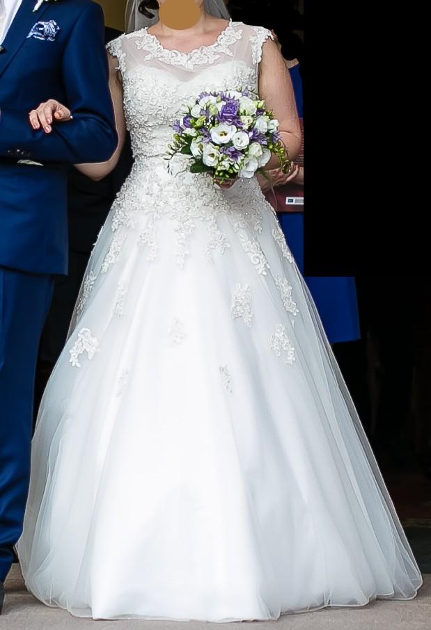 Justin Alexander Sincerity Bridal 3771 'Anya' Princess look