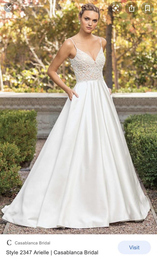 Casablanca Bridal Arielle