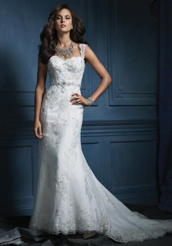 Alfred Angelo Sapphire Collection 854