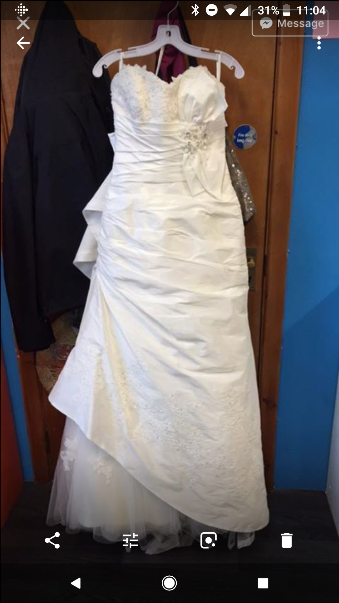 Blue By Enzoani 206A cardiff New