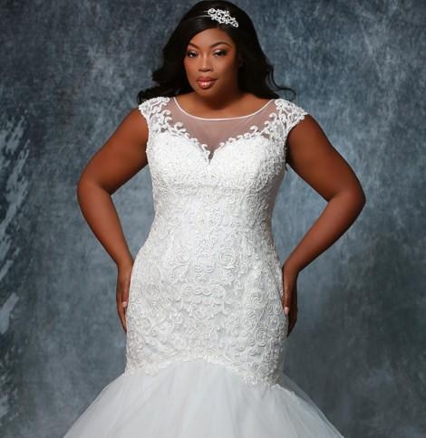 Michelle Bridal Zara Bridal Gown MB1928