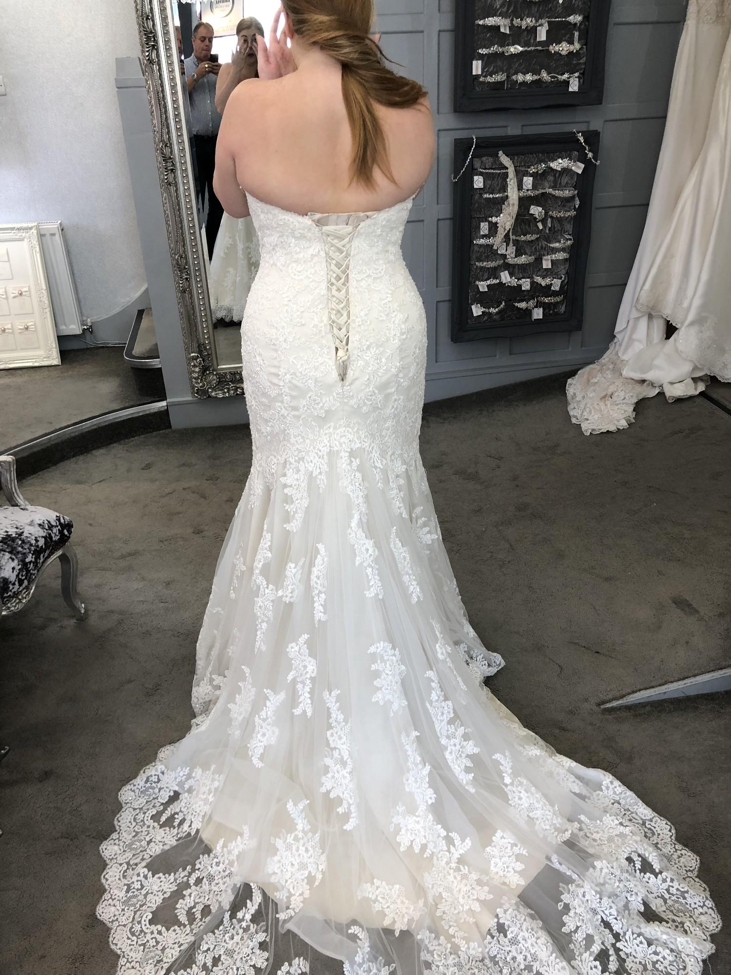 Maggie Sottero 6ss774lu Ivory Over Light Gold New Wedding Dress Save 47 Stillwhite