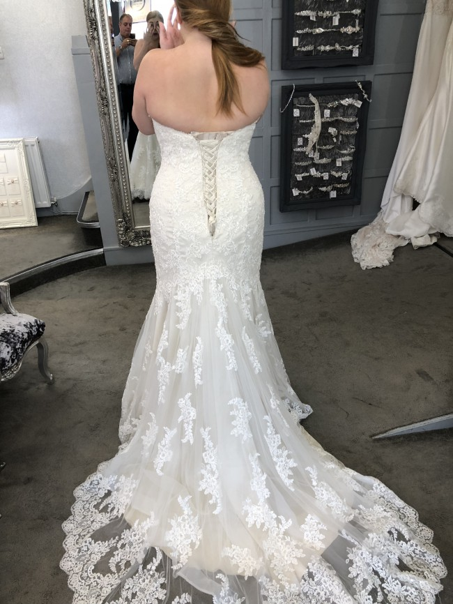 Maggie Sottero 6SS774LU+IVORY OVER LIGHT GOLD