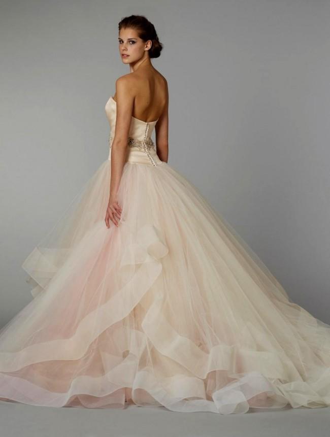 023f3fe12fc6 Lazaro Sherbert Ball Gown: Lazaro Style 3250 Preloved Wedding Dress ...