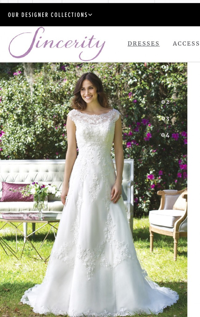 Sincerity Bridal, A-Line