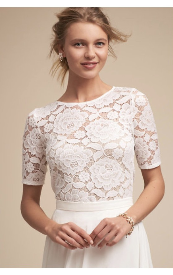 BHLDN Marissa skirt & Jive top