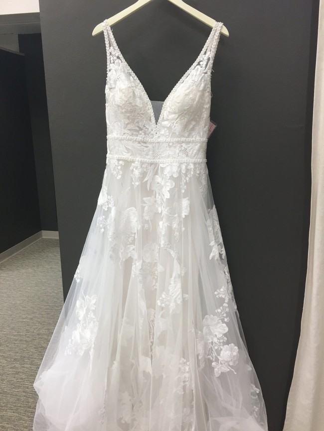 Allure Bridals 9657 in Sand/Ivory-NEW, Unaltered