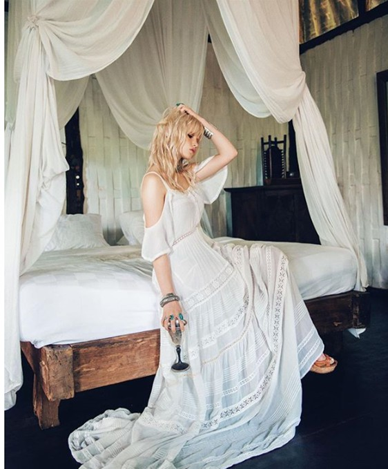 Spell Designs The Elizabeth Gown Off White Preowned