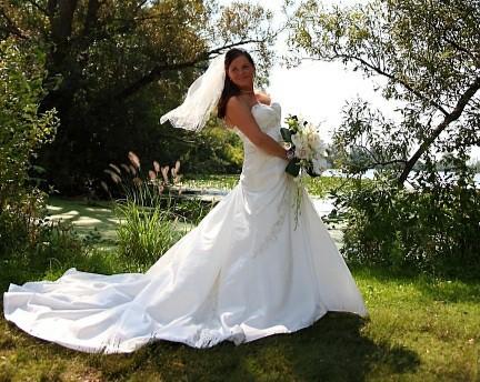 Sophia Tolli Diamond white #Y1810