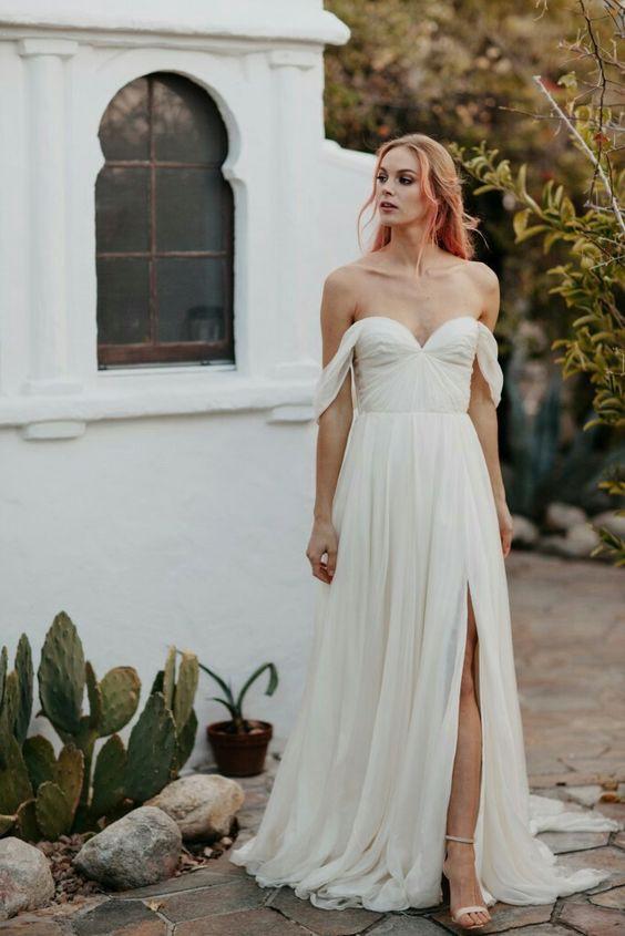 09823f42c74 Sarah Seven Quincy Second Hand Wedding Dress on Sale 73% Off - Stillwhite  Australia