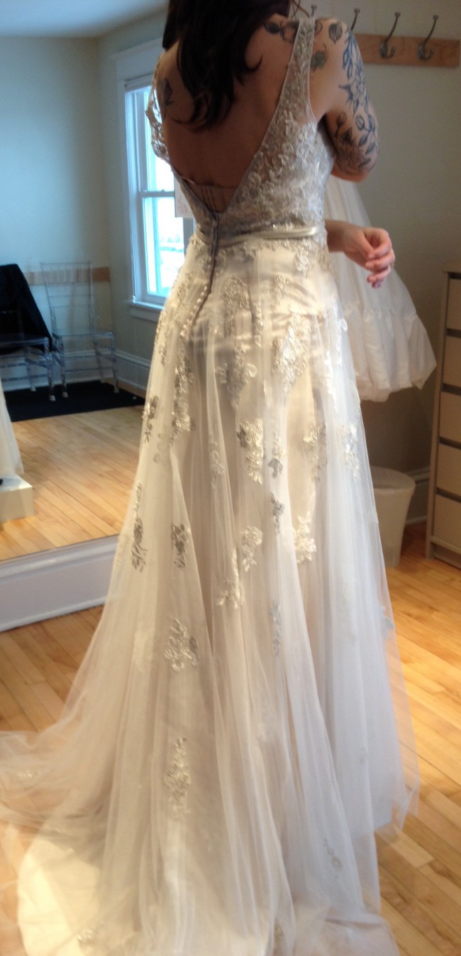 Maggie Sottero, 5MN695 - Extra Long
