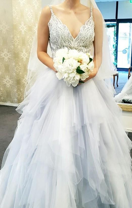Allure Bridals 9425 and Australian made veil