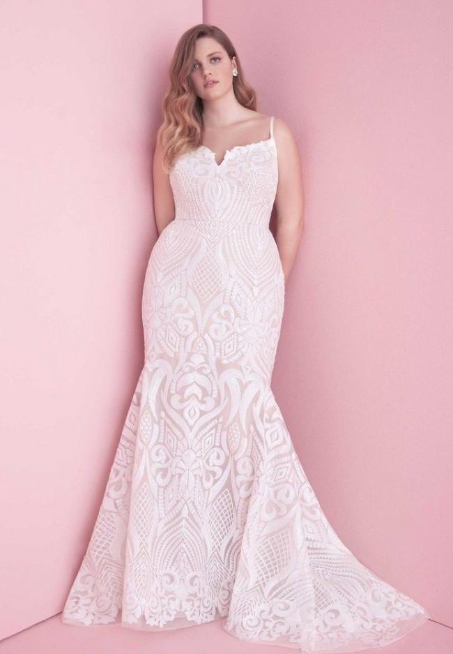 Blush by Hayley Paige West curve size