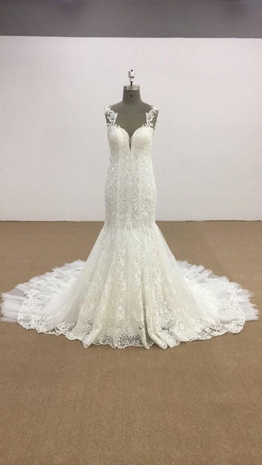 Trumpet Couture trumpet wedding dress