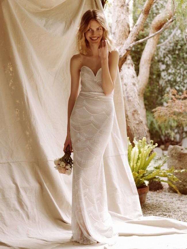 89ed960b8ab Stone Cold Fox New Wedding Dress on Sale 33% Off - Stillwhite United ...