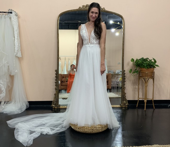 Made With Love Riley with tulle skirt BRAND NEW never worn