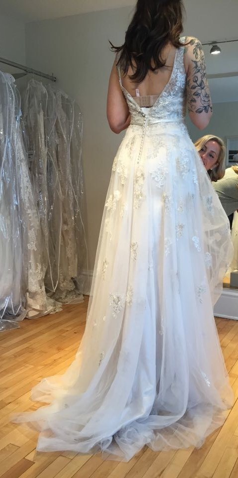 Maggie Sottero 5MN695 - Extra Long
