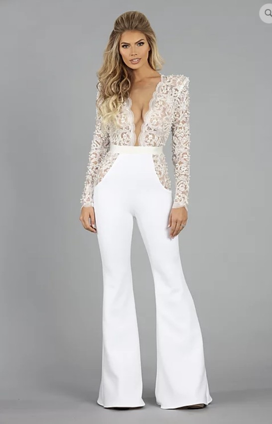 Ryan & Walter Bridal Brielle jumpsuit
