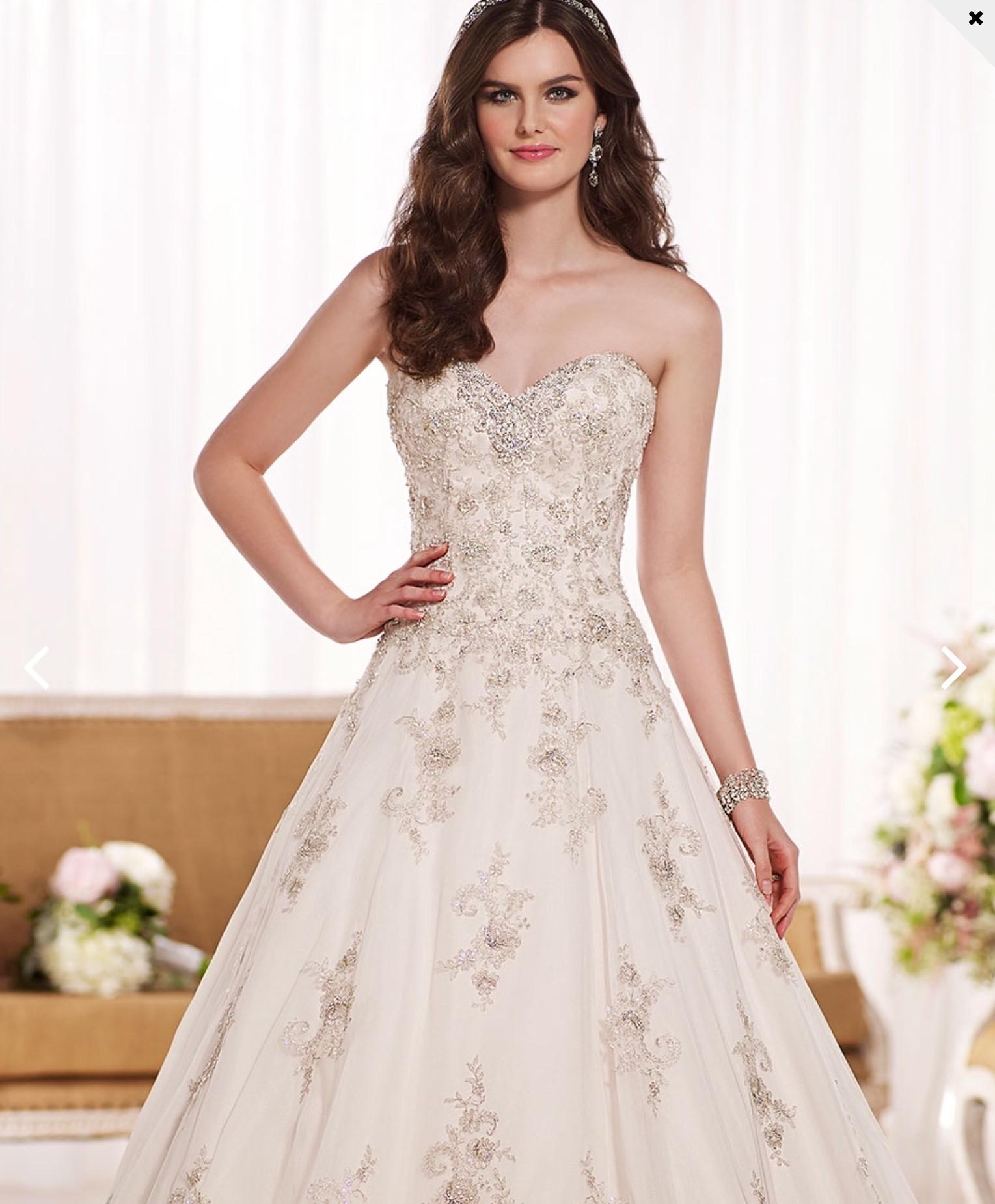 Essense Of Australia Style No. D1757 Second Hand Wedding