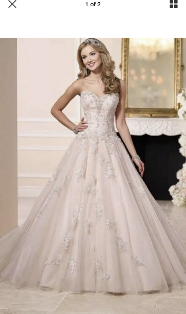 Stella York Princess Ball Gown 6112
