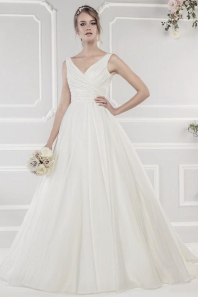 Ellis Bridal, Luxury Organza Ballgown Style 11427