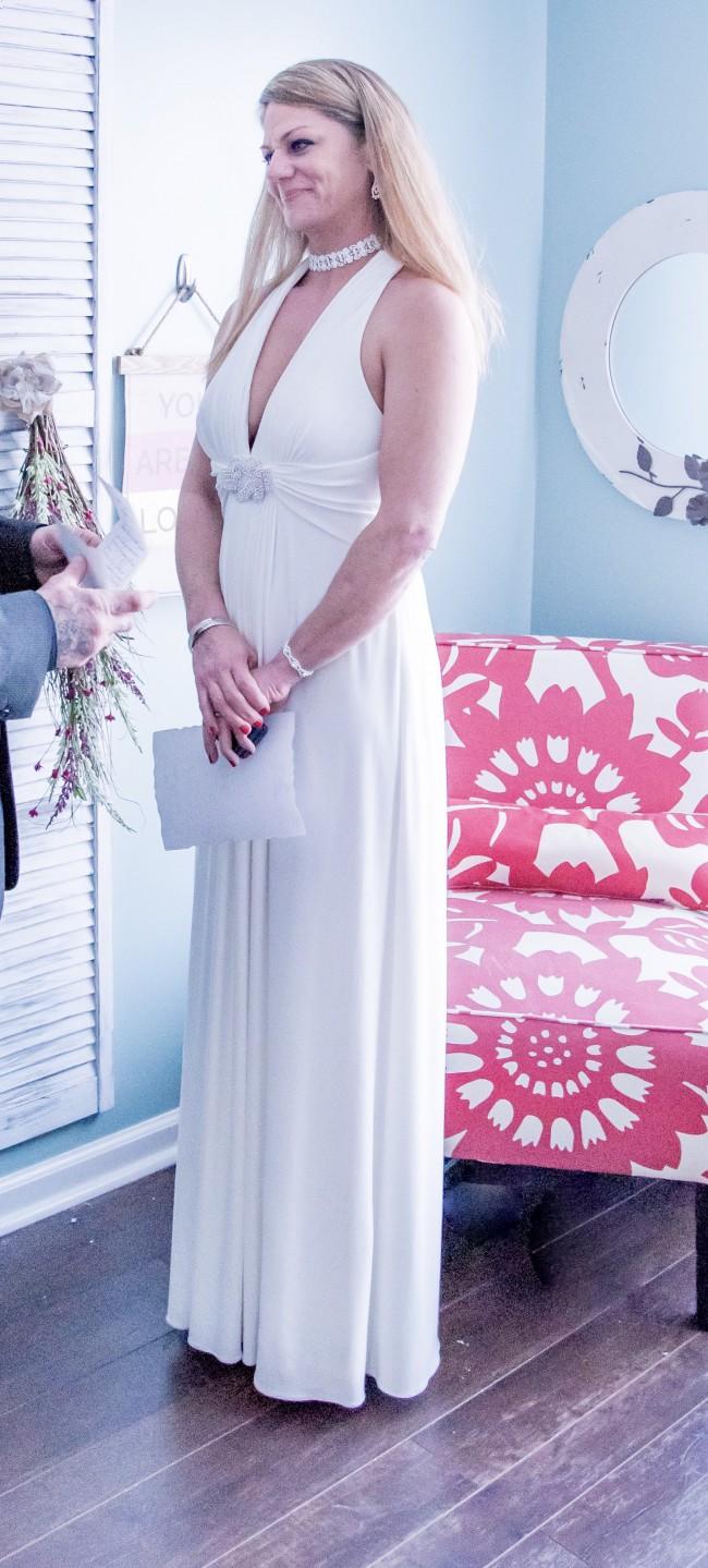 b4bfc1b92 David's Bridal Collection DB4226 Second Hand Wedding Dress on Sale ...