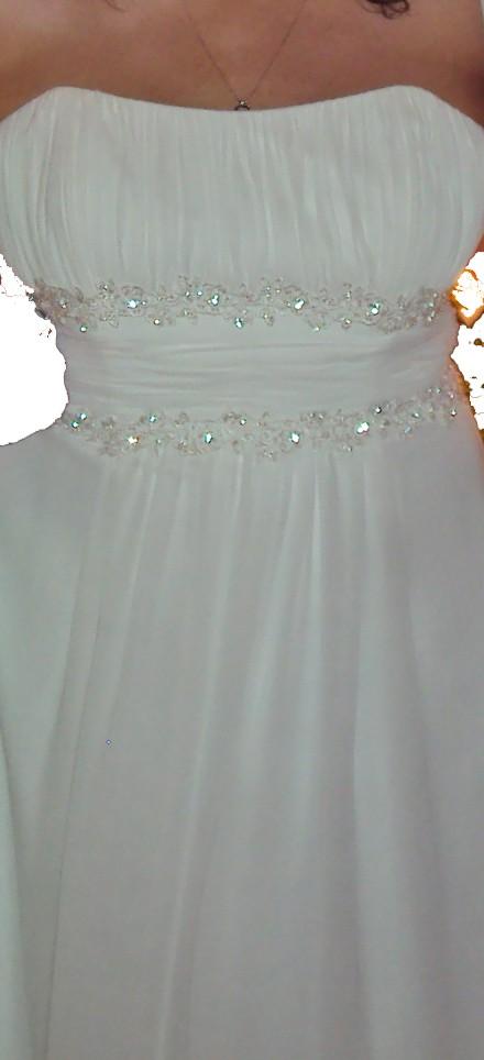 David's Bridal V9743